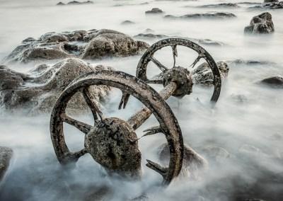 Wagon wheels on Chemical Beach - Brian Curry - First