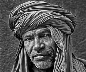 Berber Tribesman by David Stout