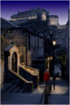 1st - The Vennel at dusk - Fred Wright