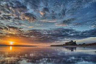 3rd - Bamburgh Dawn - Alan Fowler