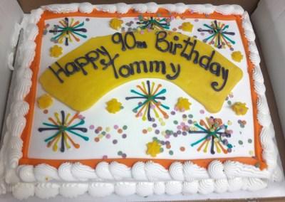 Tommy`s cake