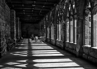 Peace in the Cloisters