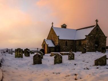 St Andrews Church Winter Sunset