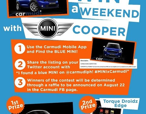 Ride a Mini Cooper for a Weekend through Carmudi PH