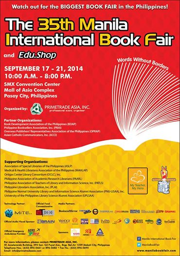 Visit the 35th Manila International Book Fair