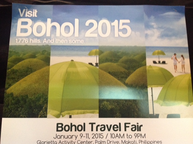 Bohol Travel Fair 2015 at Glorietta