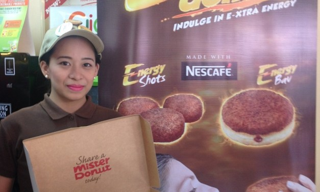 Boost your energy–the Mister Donut way!