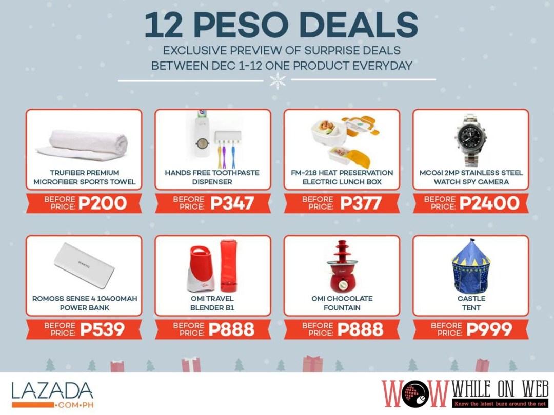 12 Peso Deal