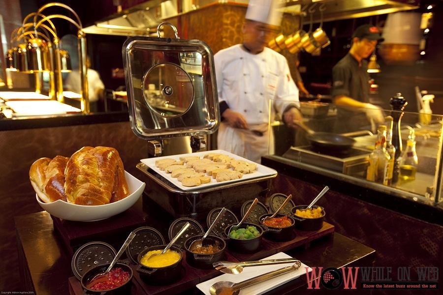 Marriott Cafe Easter-rific Foie Gras