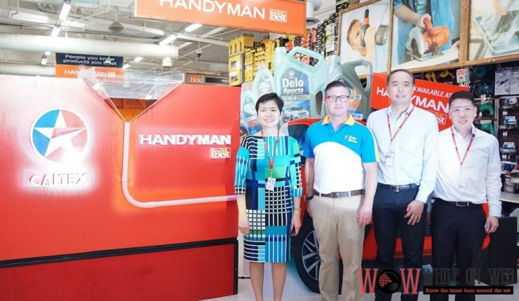 "Caltex and Handyman promo ""Release the Power of X"""