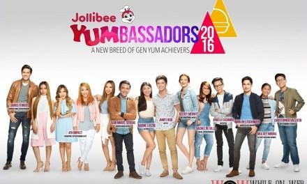 Jollibee introduces 2016 Yumbassadors – #ProudGenYum