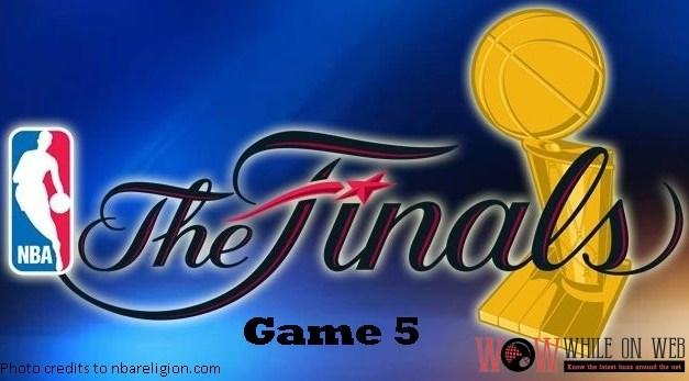NBA Finals Game 5 – Warriors vs Cavaliers live blog