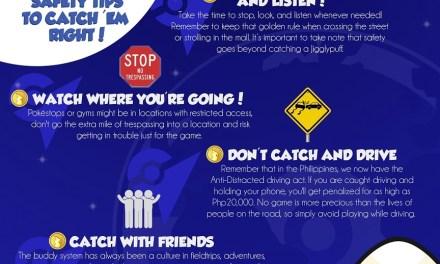 Pokemon Go: Safety tips to catch 'em right
