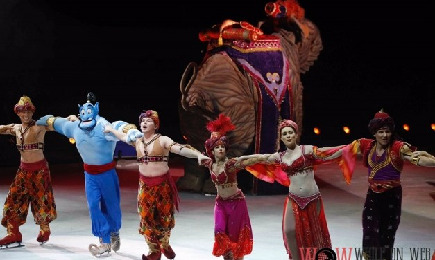 Disney on Ice grants wishes in benefit show
