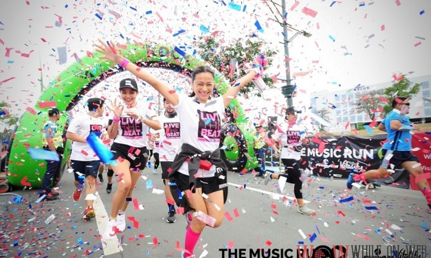 Over 10,000 Runners Rock The Block At The Music Run™ By Philam Vitality In Manila