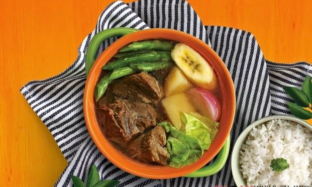 Goldilocks Beef Nilaga:  food from the heart