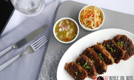 Vegan Take on Filipino Dishes by Marriott Hotel Manila