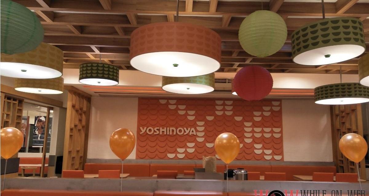 Yoshinoya: Tasty, low-priced and quick.