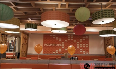 Yoshinoya: Tasty, low-priced and quick.