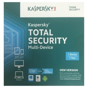 Kaspersky, Total Security, Multi Device, 1 Device
