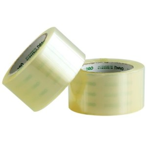 Packing Tape, 46.5mm x 75m, 6 Pack