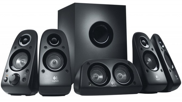 Logitech, Z506, Surround Sound, Speakers