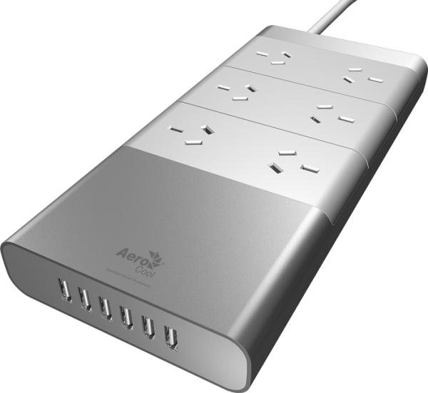 Aerocool, iPower66, Slim Aluminium, Powerboard