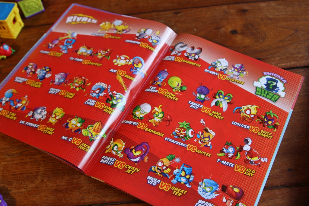 Superzings Review Collectibles Book Comic