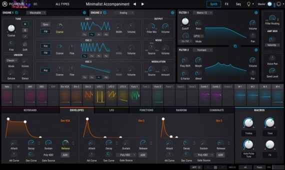 arturia pigments wavetable synth plugin