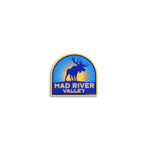 Mad River Moose Helmet Sticker