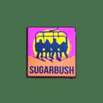 """Sugarbush Never Ending Winter Sticker 3""""x2"""""""