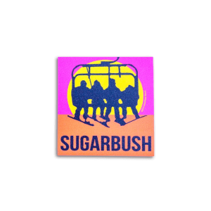 Sugarbush Never Ending Winter Sticker