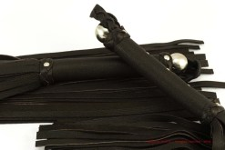 Exclusive flogger set - Brown reindeer leather - thuddy -