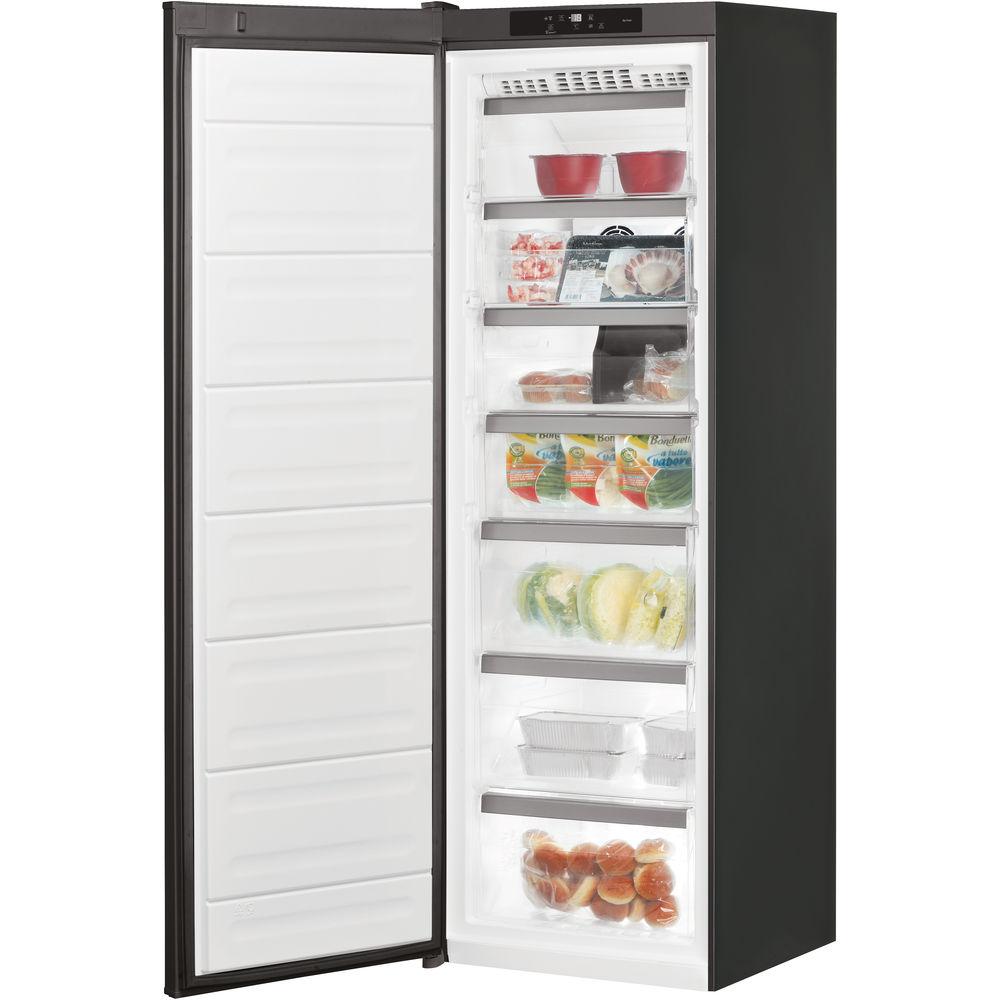 congelateur armoire bauknecht couleur noir gkn blackline sw