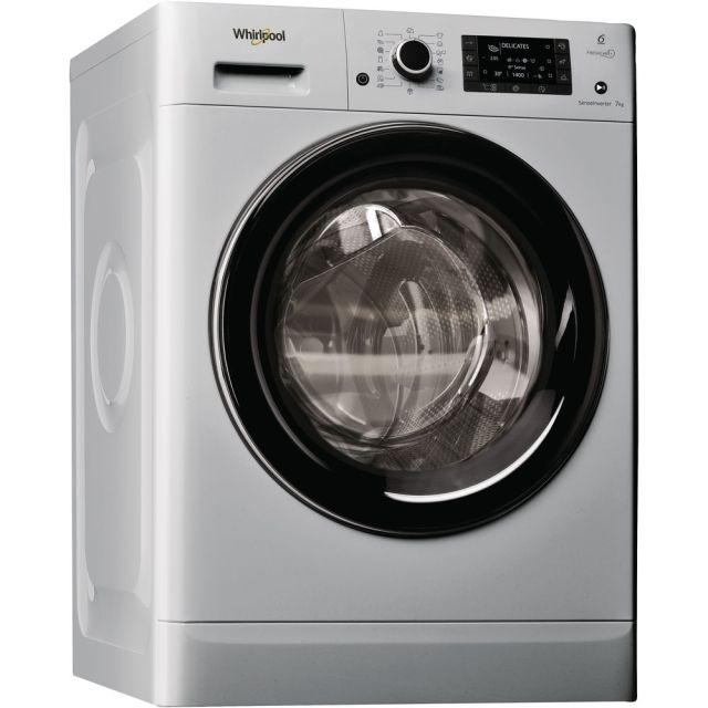 Masina de spalat rufe independenta cu incarcare frontala Whirlpool: 7kg - FWD71284SB EE