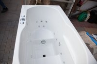 Islay japanese style bath with whirlpool