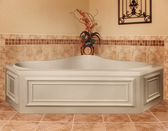 Hydro Systems Erica Corner Jacuzzi Whirlpool Tub Jetted