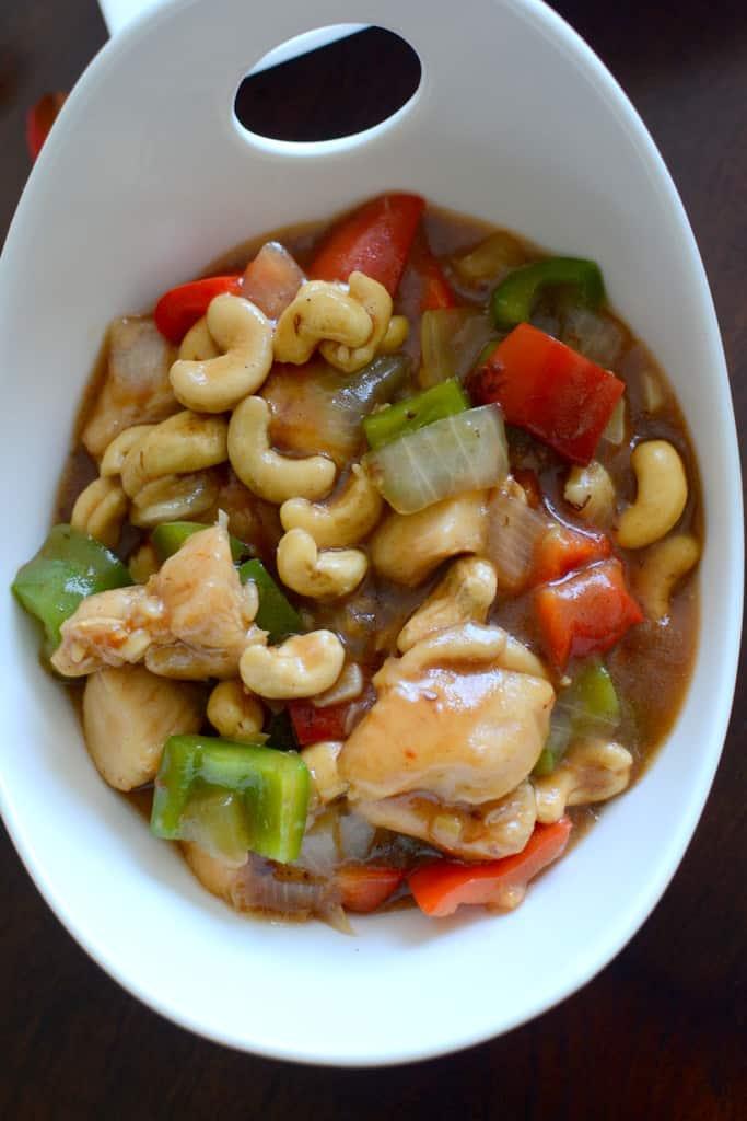 Chinese Cashew Chicken Recipe, Chinese Style Chicken ...