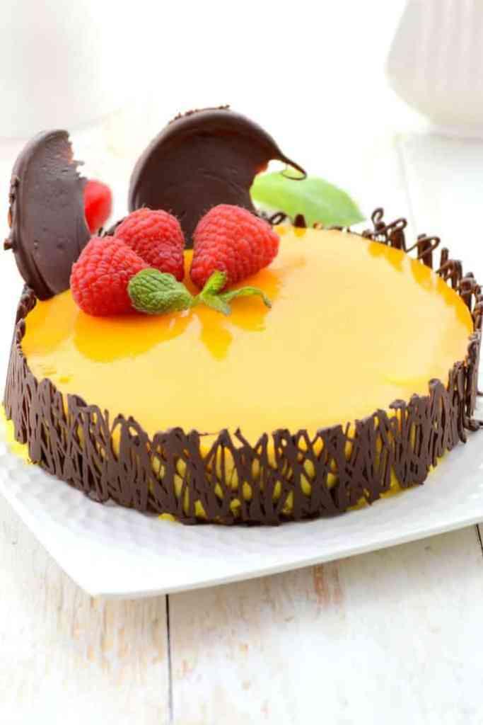 Mango Mousse Cake Mango Cake Recipes Whisk Affair Food Blog