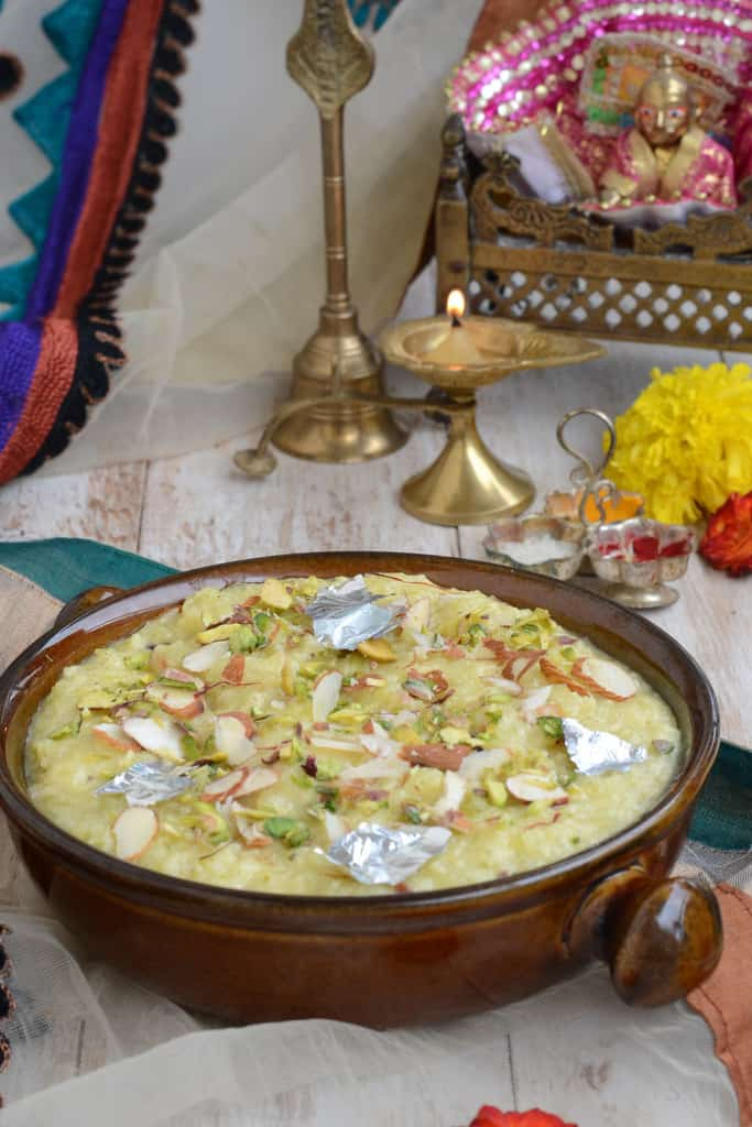 Dudhi Halwa or Lauki ka Halwa is a simple and easy sweet dish that uses the basic ingredient of bottle gourd. It's a popular dish made all over India.