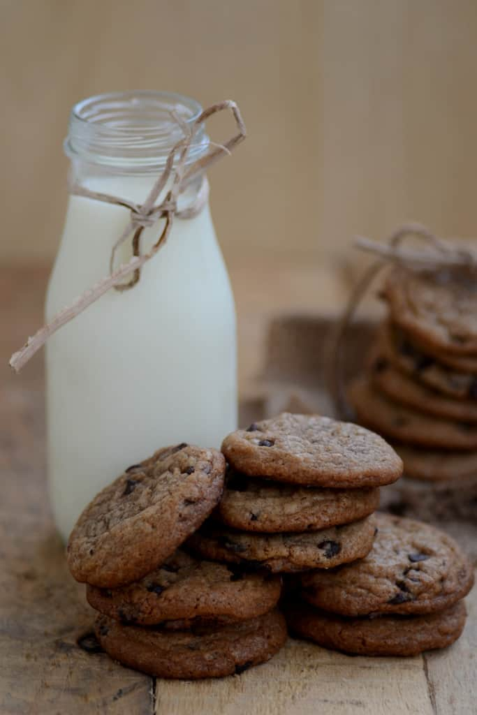 Chocolate Chip Cookies are the perfect go-to bites for evening tea. These delectable goodies are crisp on the outside and soft and chewy from within.