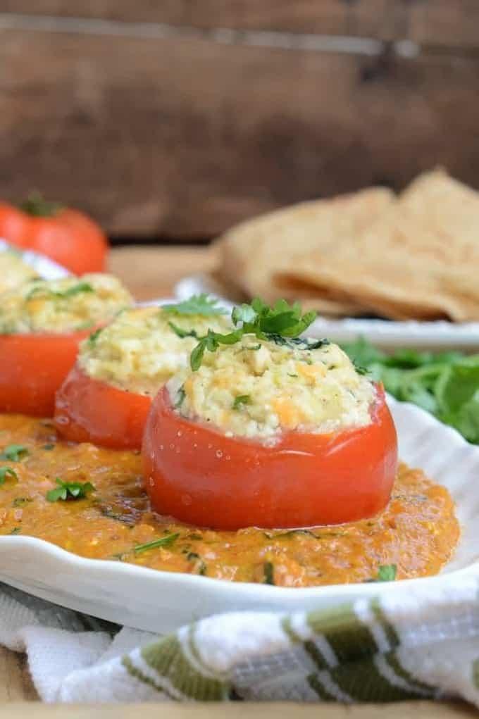 Stuffed Tomatoes in Malai Gravy Recipe, How to make Stuffed Tomatoes in Malai Gravy