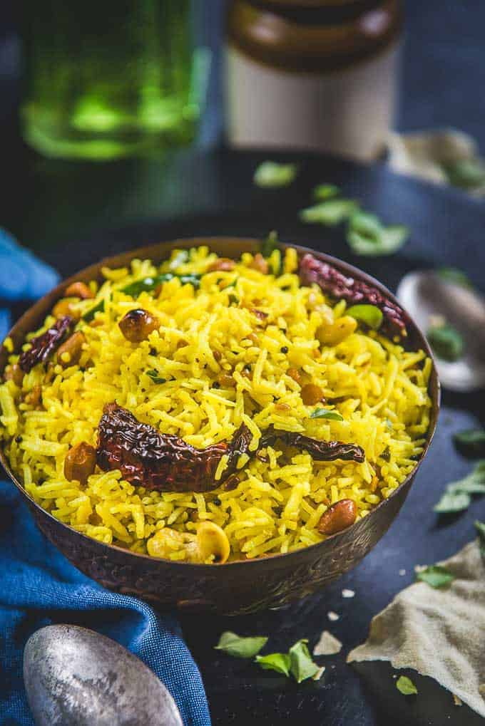 South Indian Lemon Rice Recipe – Video Recipe