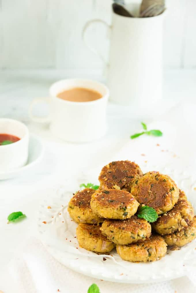 Tofu and Chickpea Patties