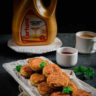 Spinach and Corn Cutlets