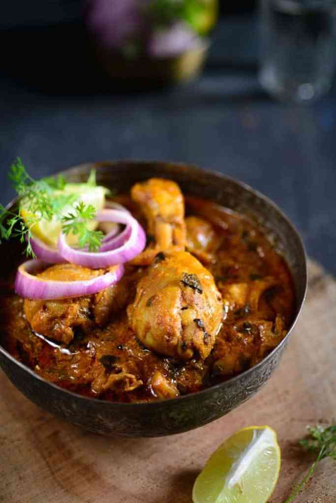 Methi Murgh Recipe, How to make Methi Murgh or Fenugreek Chicken