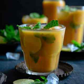 Mango Mint Iced Tea
