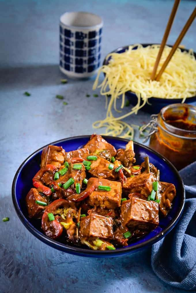 Asian Tofu and Vegetable Stir Fry Recipe, How to make Asian Tofu and Vegetable Stir Fry