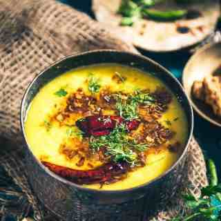 Dhuli Urad Dal is one of the easiest accompaniment that can be prepared using this nutritious lentil. You may serve it with Parathas as well as Rice.