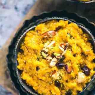 Kaddu Ka Halwa is a unique vegetable-based dessert like Laka ka Halwa which turns stupendously toothsome. Do prepare it this festive season!